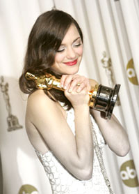 Marion wins Best Actress Oscar