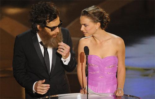Natalie Portman and Ben Stiller - Oscar 2009