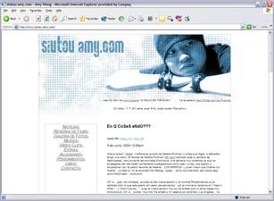 siutou-amy.com website - April 18th 2004