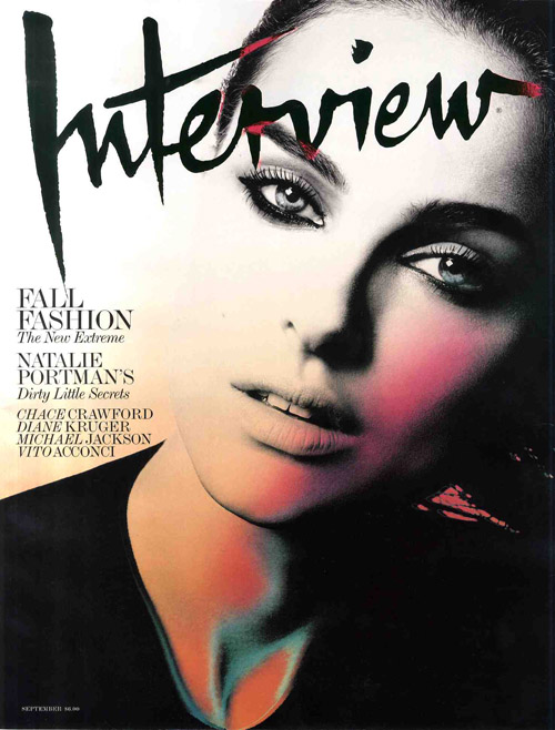 sporting this AWESOME cover,. Natalie Portman for Interveiw Magazine