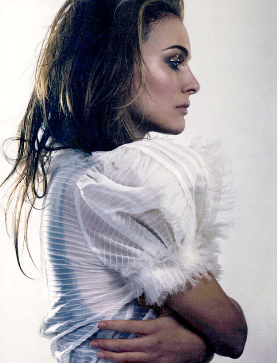 Natalie Portman for Elle UK by David Slijper