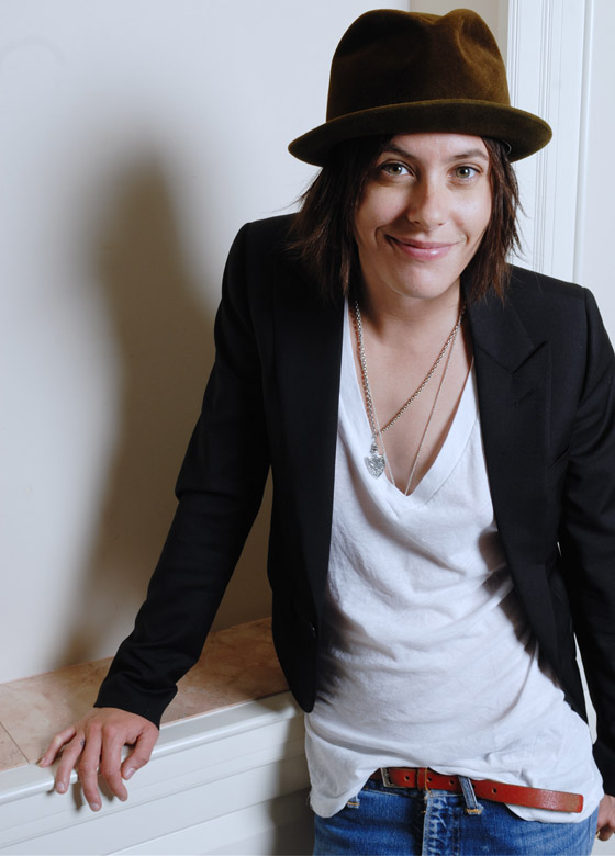 And it's always good to post Kate Moennig photos.