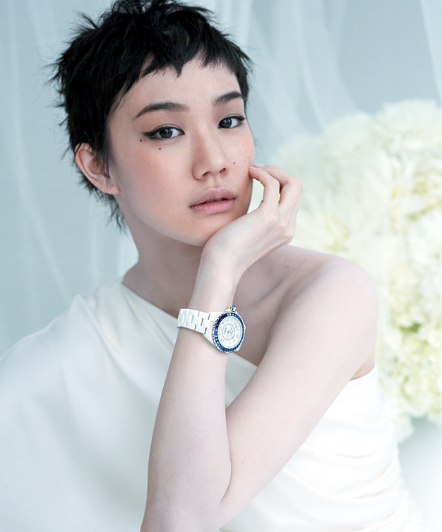 Yu Aoi For Chanel J12 White Personal Amy Wong Com A